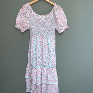 LoveShackFancy x Target Celeste Floral Midi Dress